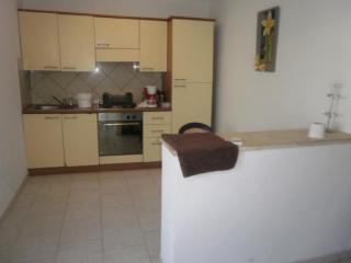 cuisine de l'appartement deux pièces
