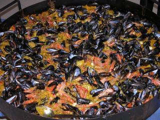 paella geante